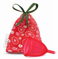 LadyCup menstruační kalíšek Divoká třešeň S menší