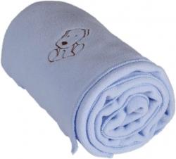 Kaarsgaren Dětská flísová deka s pejskem modrá