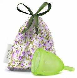 LadyCup menstruační kalíšek Green Meadow - velikost S