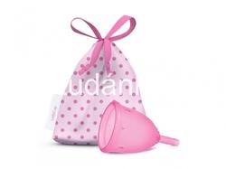 LadyCup menstruační kalíšek růžový S menší