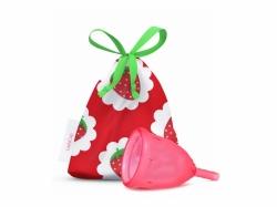 LadyCup menstruační kalíšek Sladká jahoda - velikost L