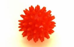Sanity - Míč ježek s masážními výstupky průměr 5,5 cm, Oranžový